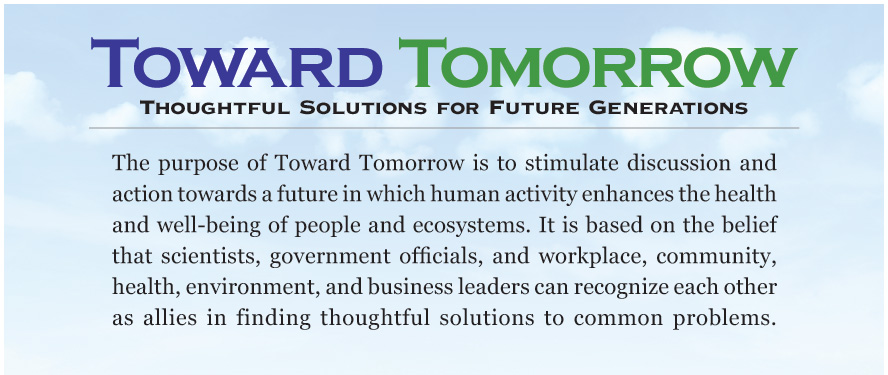 Toward Tomorrow - Thoughtful Solutions for Future Generations